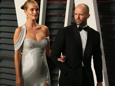 Statham and Huntington-Whiteley Welcome Baby Boy -- See First Photo & Name!