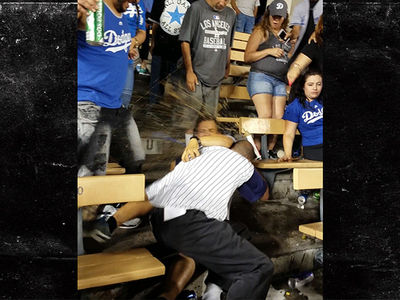 Bloody Brawl Breaks Out At Dodgers vs. Angels Game