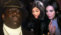 Notorious B.I.G.'s Estate Threatens to Slap Kendall, Kylie with Lawsuit Over Shirts