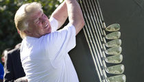 Donald Trump's Golf Clubs Up for Auction