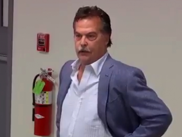 Video shows emotional Jeff Fisher telling staff he was sacked