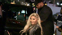 Lil' Kim Exercises Miranda Rights at Strip Club
