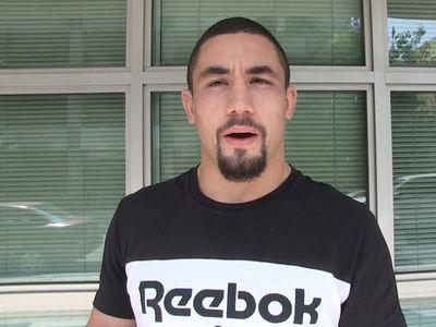 UFC's Robert Whittaker Shades Michael Bisping, Says Yoel Romero Is #1