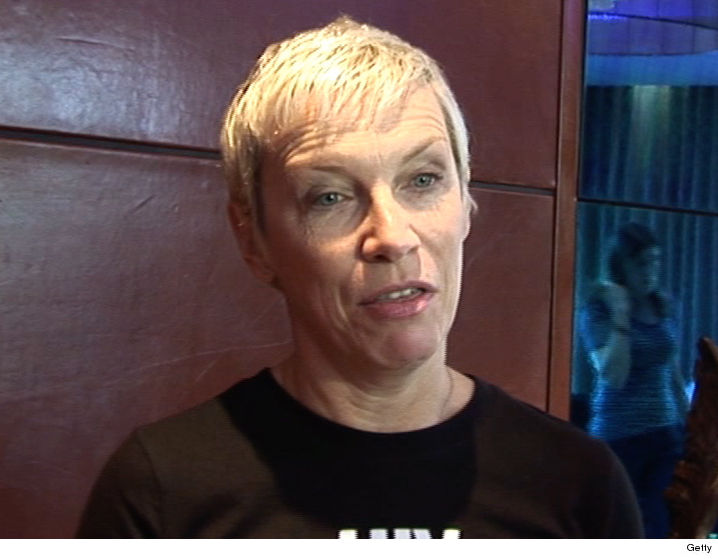 lennox. annie lennox has potential as singer, radio station claims
