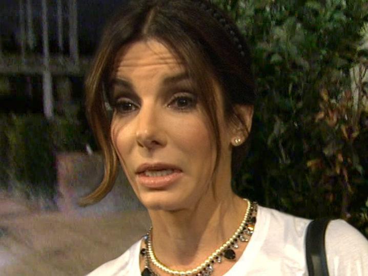 Sandra Bullock Alarmed... Sandra Bullock