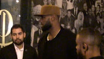 LeBron James Has Hollywood Date Night In $340k Whip