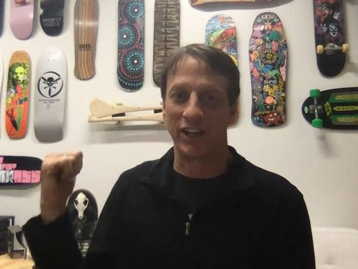 Tony Hawk Wants LeBron James to Help Him Dominate Ben Stiller's Dodgeball Game