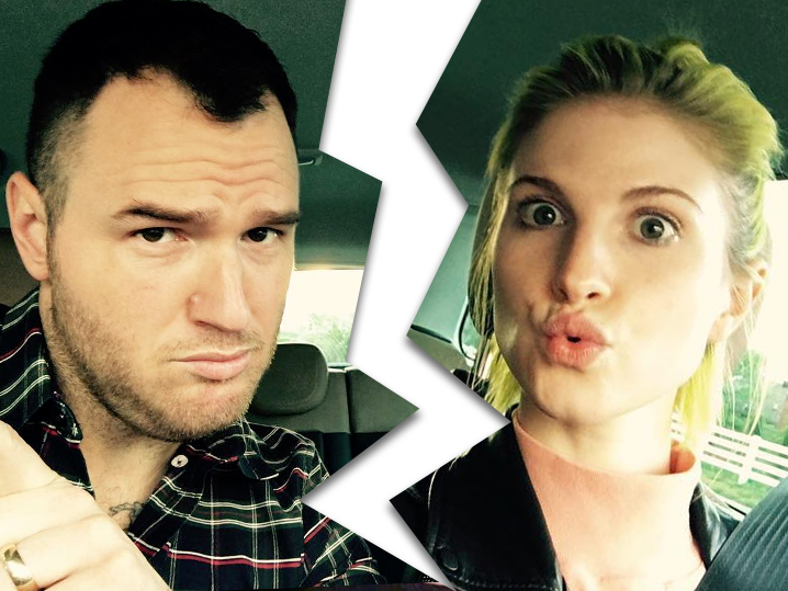 Paramore's Hayley Williams & New Found Glory's Chad Gilbert Split