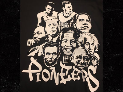 Blake Griffin Featured on Controversial LA Clippers T-Shirt with MLK, Lincoln, Gandhi and More