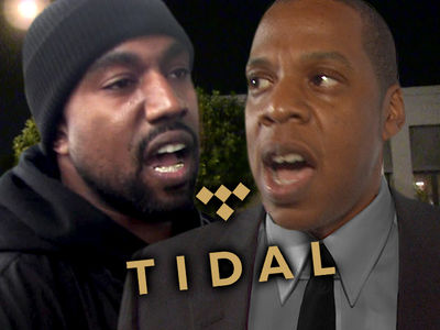 Kanye West Splits with Jay-Z's Tidal Over Money Dispute