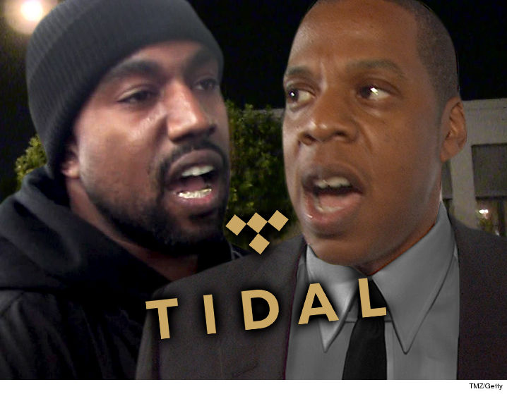 Kanye West To Split From Jay-Z's Tidal