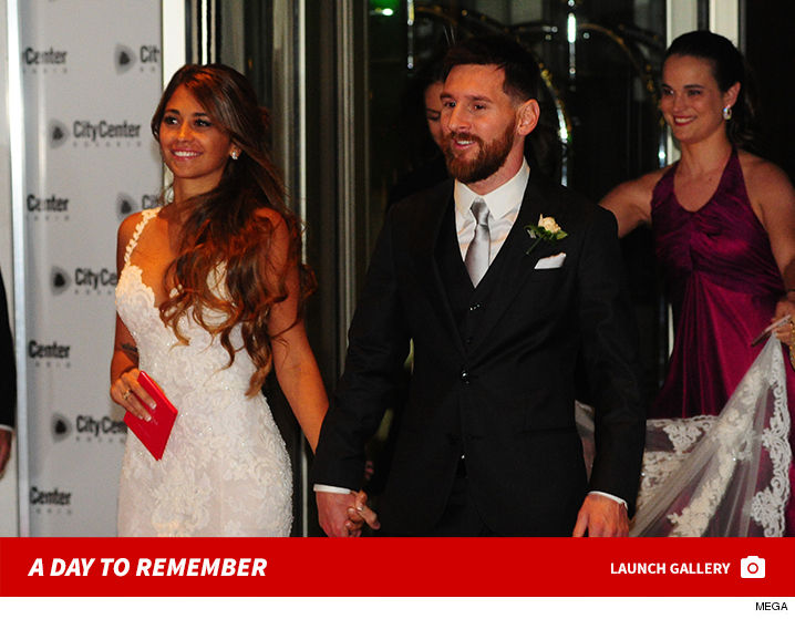 Lionel Messi Wedding Marries Longtime Friend