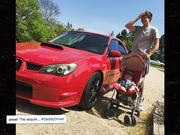 Baby Driver Subaru >> Ansel Elgort Teasing Sequel to 'Baby Driver' With Actual ...