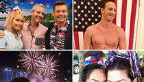 Celebs Get in Fourth of July Spirit!!!