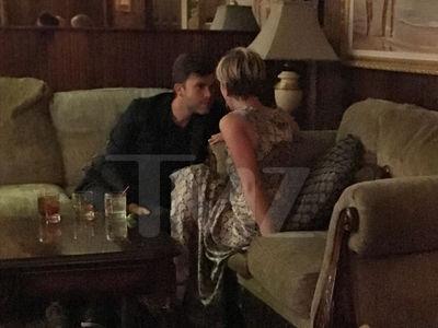 Scarlett Johansson's Romantic Dinner, Back With Colin Jost