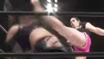 MMA's Gabi Garcia Bashes Tiny Old Lady's Skull with Illegal Head-Kicks