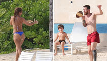 Lionel Messi Enjoys Caribbean Honeymoon with Wife and Sons