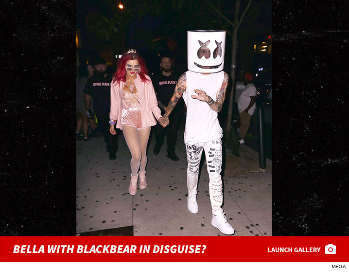 Bella thorne holding hands with blackbear disguised as bella thorne holding hands with blackbear disguised as marshmello update stopboris Images