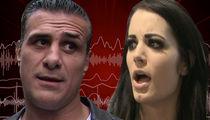Alberto Del Rio & Paige: Audio From Airport Incident, 'Leave Me The F**k Alone'