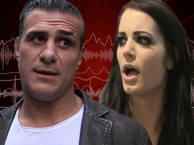 Alberto Del Rio & Paige: Audio From Airport Incident, 'Leave Me The F**k Alone'