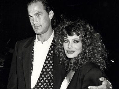 Wait'll You See Steven Segal's Plus-Size Model Daughter -- And Ex Kelly LeBrock NOW!