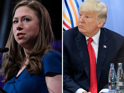 Chelsea Clinton Takes on Donald Trump -- Wait'll You See How This Feud Escalated on Twitter!