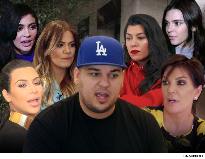 Rob Kardashian Allegedly Apologizes To The Women In His Family