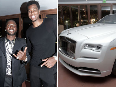 Antonio Brown's Crazy Expensive Bday Party w/ $350k Rolls