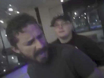 Shia LaBeouf Arrest Bodycam Footage Shows Drunken Rant, Calls Cop a 'Stupid Bitch'