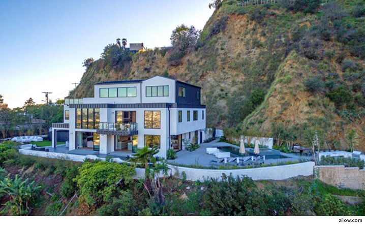 Demi Lovato's house in Laurel Canyon
