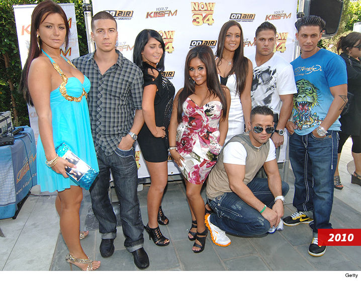 'Jersey Shore' Cast Returning For E! 'Reunion Road Trip' Docuseries