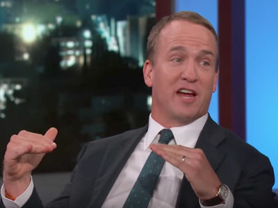 Peyton Manning: People Told Me Not to Golf with Trump