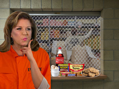 Abby Lee Miller's Snacking on $0.25 Ramen In Prison