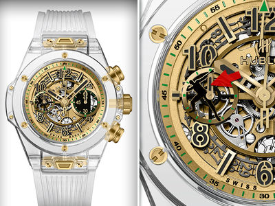 Usain Bolt's Crazy Expensive Watch Will Fight Muscular Dystrophy