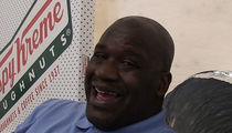 Shaq: Gunning to Own 100 Krispy Kreme Stores!!