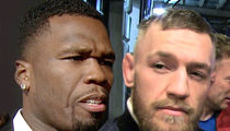 50 Cent Fires Back At Conor McGregor: You Got Choked Out, Fool!!