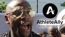 Floyd Mayweather Called Out By LGBT Org. After Gay Slur