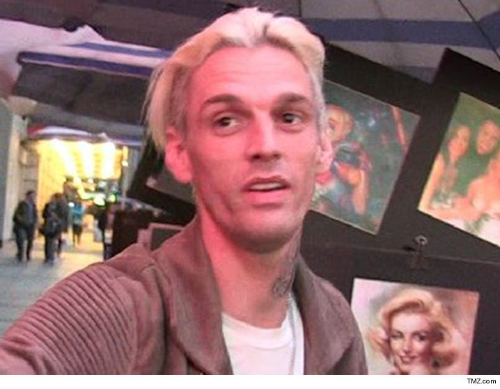 Aaron Carter arrested on DUI, drug charges