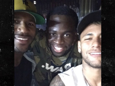Draymond Green Rages in Ibiza with Neymar