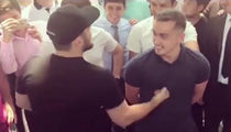 UFC's Khabib Nurmagomedov Punches A Guy In The Stomach, Then Hugs Him