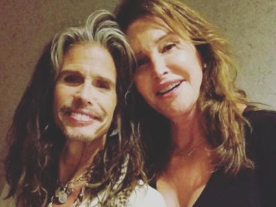 See Why Trans Community Is TICKED at Caitlyn Over Her Caption for This Steven Tyler Photo