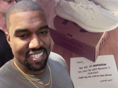 Kanye West Sends Yeezys to Help Inspirational Fan Walk Again