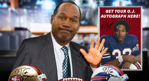O.J. Simpson Could Make a Killing Signing…