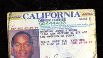 O.J. Simpson's Old Driver's Licenses Hit Auction Block