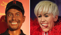 16 Bad Wax Jobs ... See The Hilarious Celeb Statues!