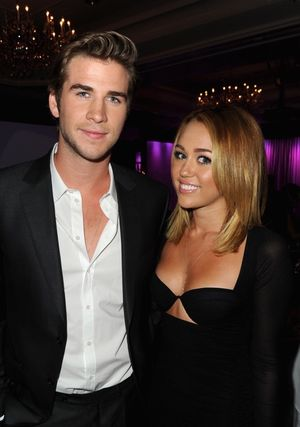 Miley Cyrus and Liam Hemsworth -- Cute Couple