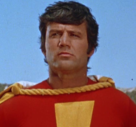 John Davey is best known for playing the superhero Captain Marvel in the '70s action TV show 'Shazam!'