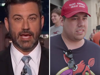 Kimmel PRANKS Trump Supporters on Hollywood Blvd, Proves They'll Support ANYTHING