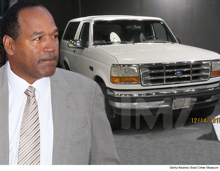 OJ Simpson's Former Agent Will Sell Infamous White Bronco For Right Price