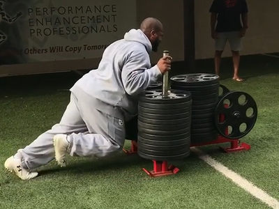 James Harrison vs NFL Rookie in Savage Strength Showdown